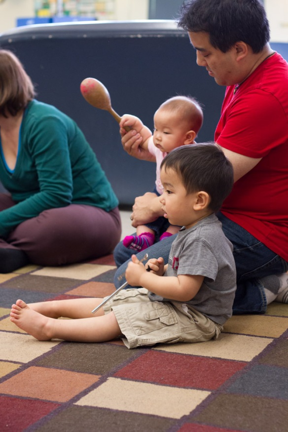 Music Together class.  Joshua loves going there every week.
