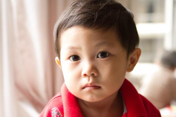 Winnie's gorgeous son, Seth.