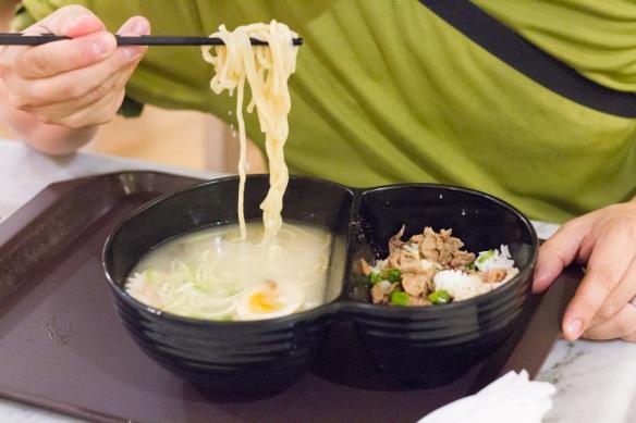 Japanese noodles.