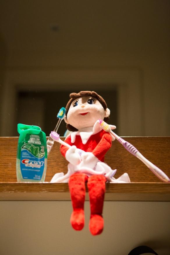 Dec 18 elf on the shelf ideas