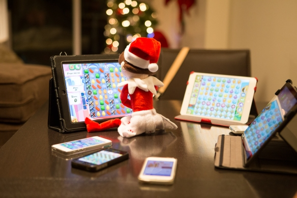 Dec 19 elf on the shelf ideas