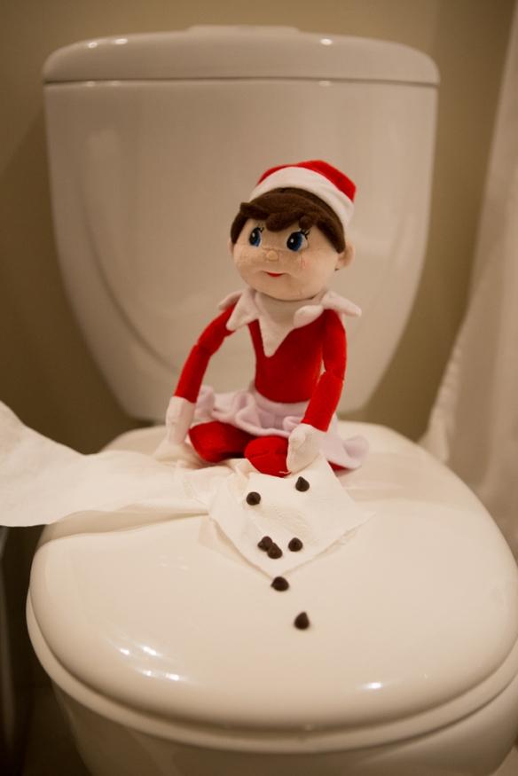 Dec 20 elf on the shelf ideas