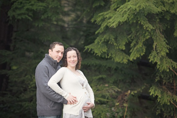Vancouver maternity photography Camosun Bog