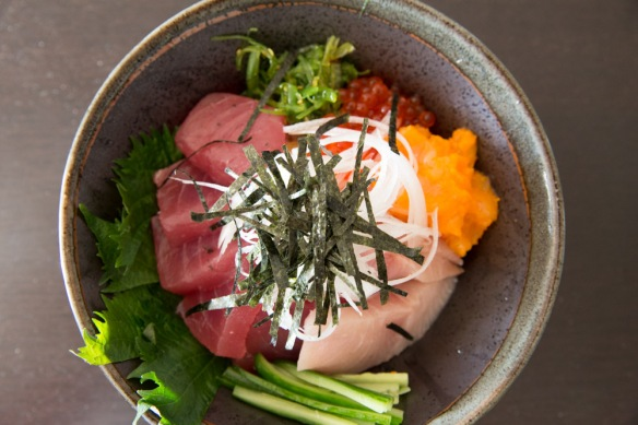 Cliff made my fav--chirashi don.