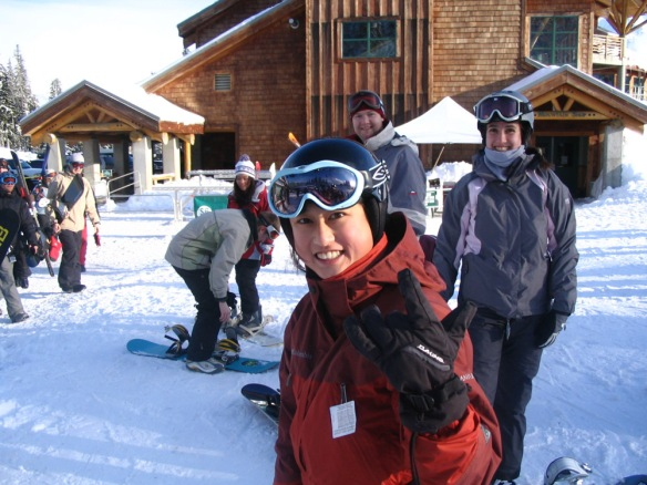 2006 snowboarding at Mt Baker.