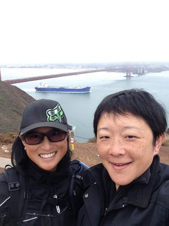 2014 San Francisco bike trip.