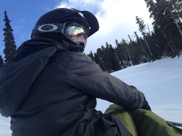 2014 snowboarding in Whistler.