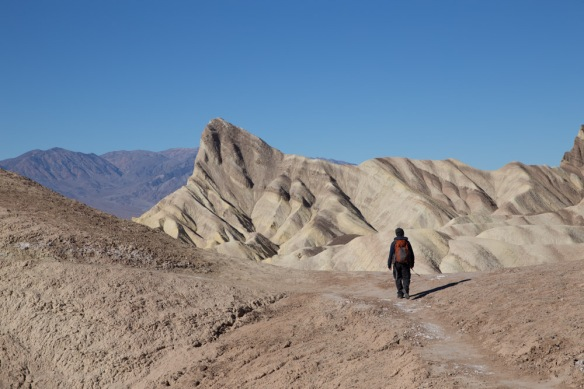 Death Valley badland loop hike-2