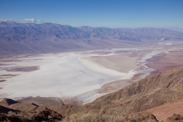 Death Valley Dante view